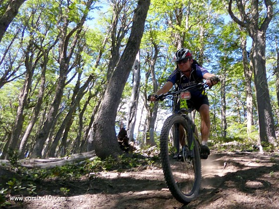 Mountainbiking in Patagonien