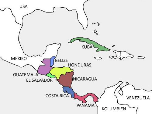 Reisen In Mittelamerika Und In Der Karibik