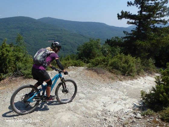 Mountainbiking in Finale Ligure