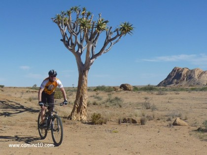 Mountainbike Reise in Namibia